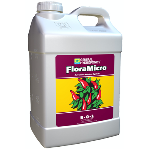 General Hydroponics GH Flora Micro 2.5 Gallon (2/Cs)