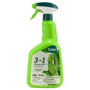 Safer Safer 3-in-1 Garden Spray II RTU Quart (6/Cs)