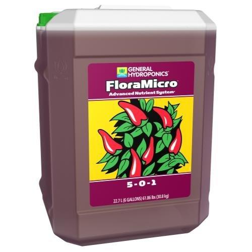 General Hydroponics GH Flora Micro 6 Gallon