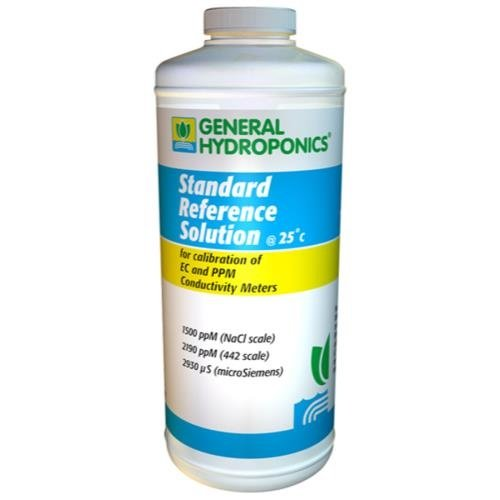 General Hydroponics GH 1500 PPM Reference Solution 8 oz (12/Cs)