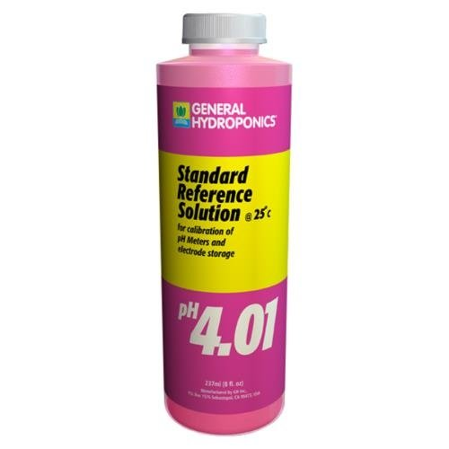 General Hydroponics GH pH 4.01 Calibration Solution 8 oz (12/Cs)
