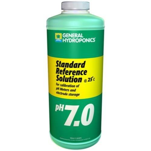 General Hydroponics GH pH 7.01 Calibration Solution Quart (12/Cs)