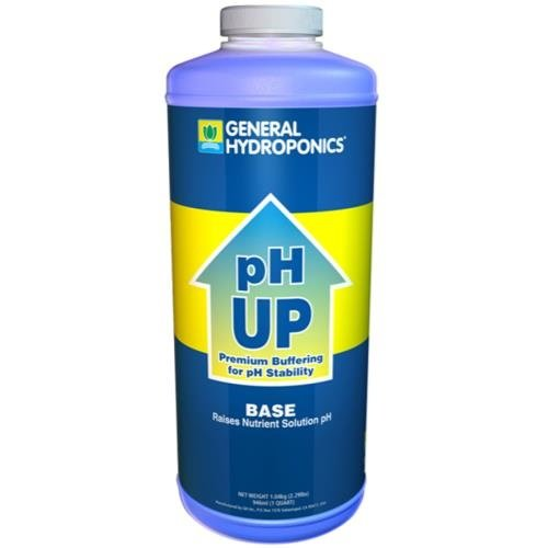 General Hydroponics GH pH Up Liquid Quart (12/Cs)