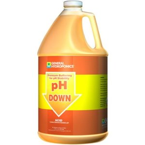 General Hydroponics GH pH Down Liquid Gallon (4/Cs)
