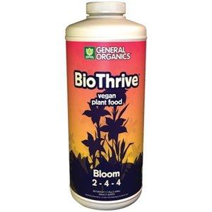 General Hydroponics GH General Organics BioThrive Bloom Quart (12/Cs)