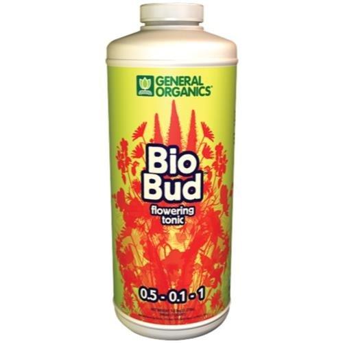 General Hydroponics GH General Organics BioBud Quart (12/Cs)
