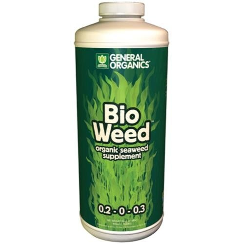 General Hydroponics GH General Organics BioWeed Quart (12/Cs)
