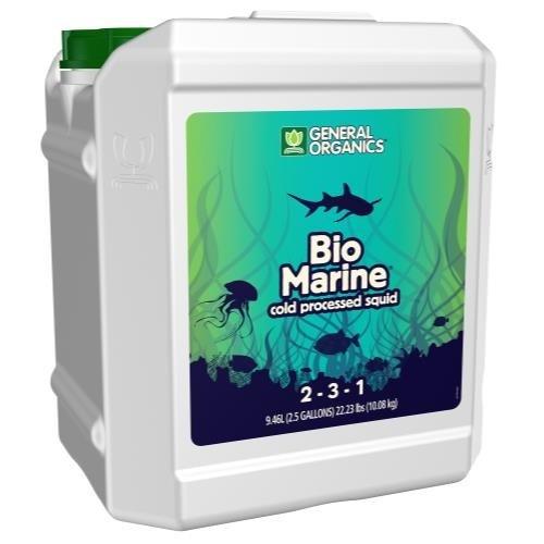 General Hydroponics GH General Organics BioMarine 2.5 Gallon (2/Cs)