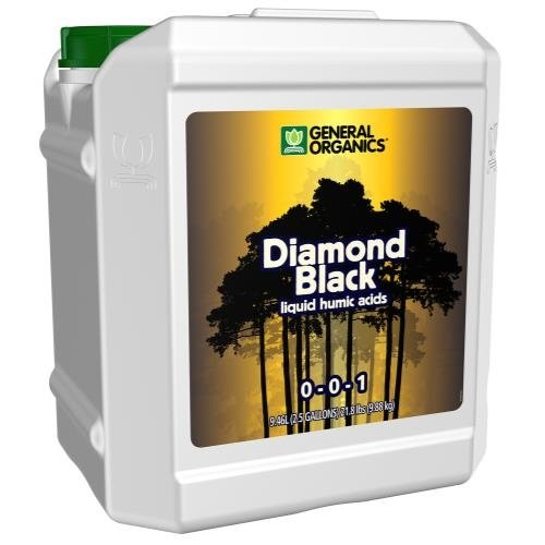 General Hydroponics GH General Organics Diamond Black 2.5 Gallon (2/Cs)