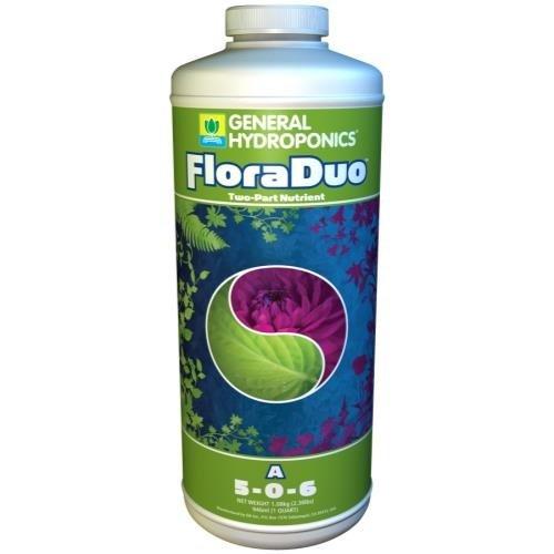 General Hydroponics GH Flora Duo A Quart (12/Cs)