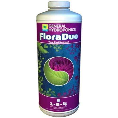 General Hydroponics GH Flora Duo B Quart (12/Cs)