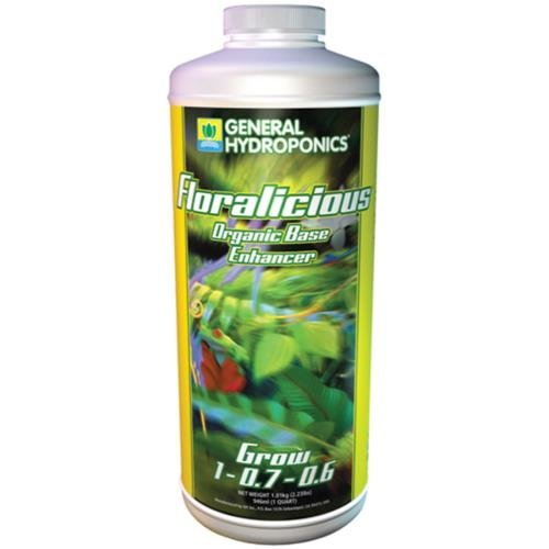 General Hydroponics GH Floralicious Grow Quart (12/Cs)