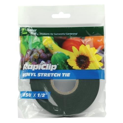 Luster Leaf Rapiclip Vinyl Stretch Tie 0.5 in (12/Cs)