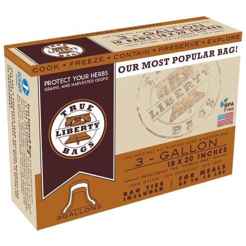 True Liberty Bags True Liberty 3 Gallon Bags 18 in x 20 in (25/pack)