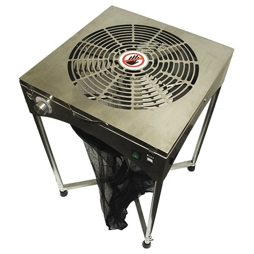 Grow1 18'' TableTop Stand Motor Driven Trimmer - Stainless