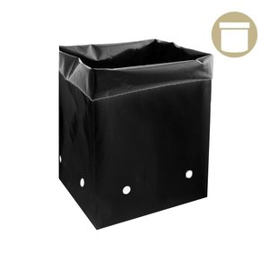 Grow1 2 Gal Black PE Grow Bag (50-pack)