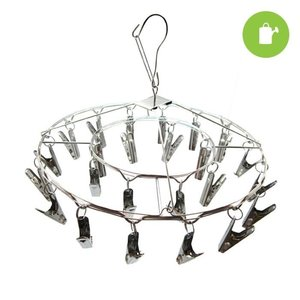 Grow1 24 Clip Hanging Metal Drying Rack