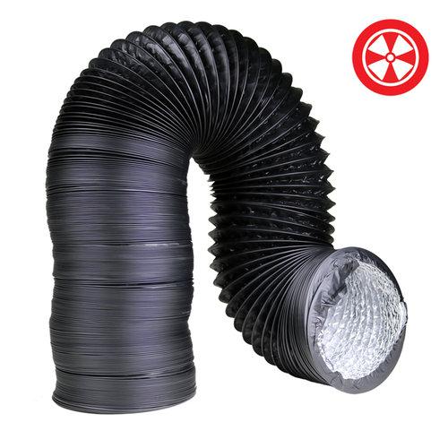 Grow1 12'' Light Proof Black Ducting