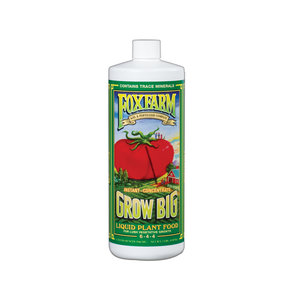 FoxFarm Grow Big Liquid Concentrate, 1 qt