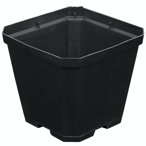 Gro Pro Black Plastic Pot 4 in x 4 in x 3.5 in (960/Cs)
