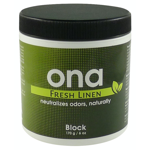 Ona Ona Block Fresh Linen 6 oz (48/Cs)
