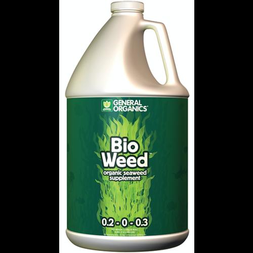 General Hydroponics GH General Organics BioWeed Gallon (4/Cs)