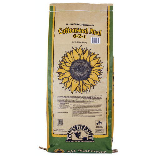 Down To Earth Cottonseed Meal - 20 lb