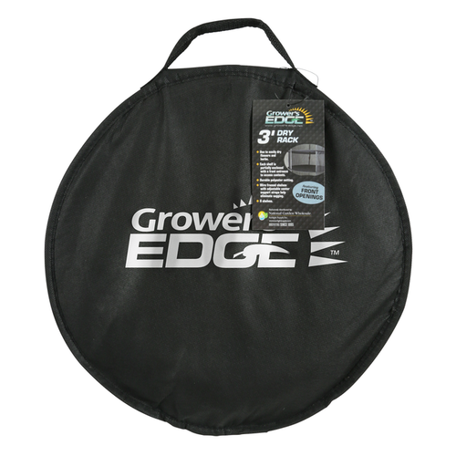 Growers Edge Grower's Edge Dry Rack Partially Enclosed - 3 ft (12/Cs)