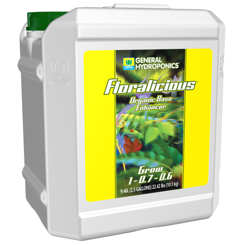 General Hydroponics GH Floralicious Grow 2.5 Gallon (2/Cs)