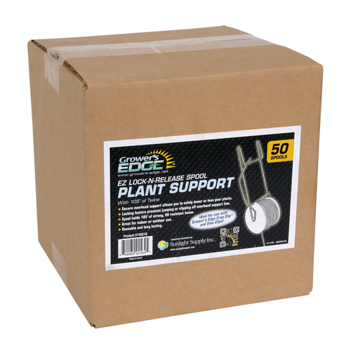 Growers Edge Grower's Edge EZ Lock-n-release Spool Plant Support w/ Twine - 105 ft (50/Cs)