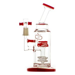 Waterpipe Cheech & Chong 'Anthony' 8.25'' Red