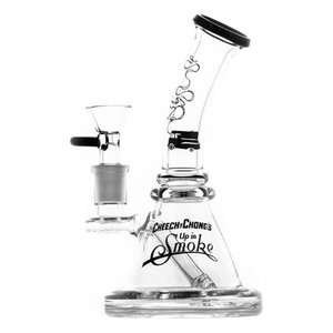 Waterpipe Cheech & Chong 'Strawberry' 7.25'' Black
