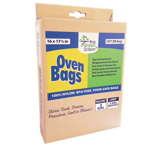 861123000014 The Green Scissor Oven Bags – 25 pack