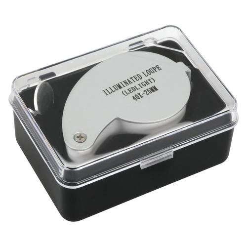 Growers Edge Grower's Edge Illuminated Magnifier Loupe 40x (12/Cs)