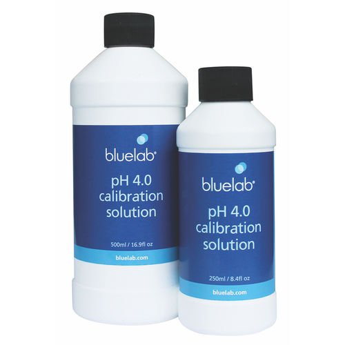 BlueLab Bluelab pH 4.0 Calibration Solution 250 ml (6/Cs)