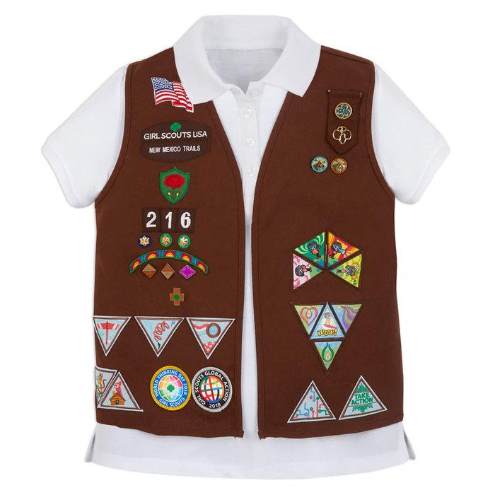 Brownie Vest Sm (6-8)