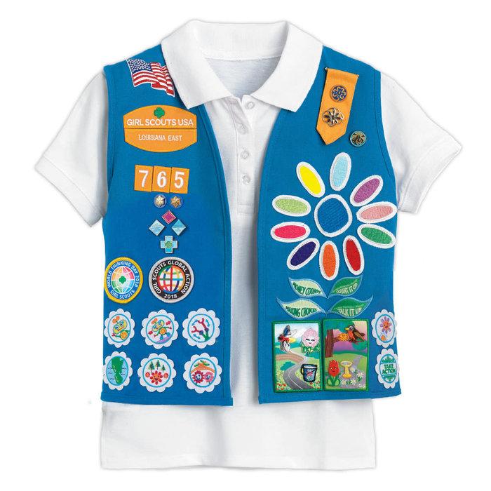 Daisy Vest XXS/XS (4-5/6-6X)