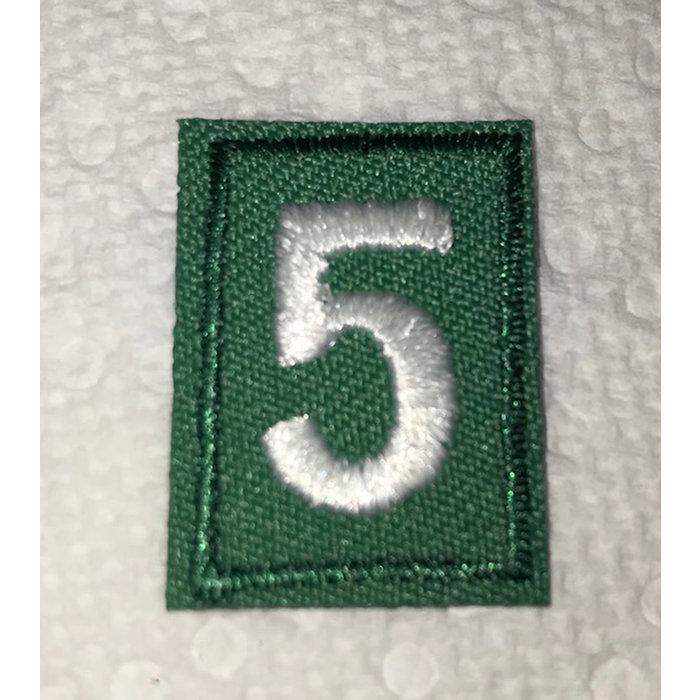 Jr/Cad/Sr/Amb Numeral 5