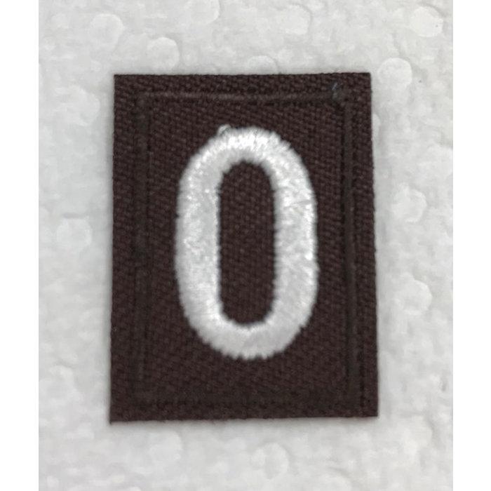Brownie Numeral 0