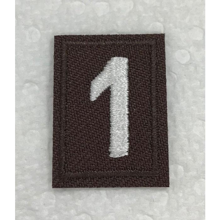 Brownie Numeral 1