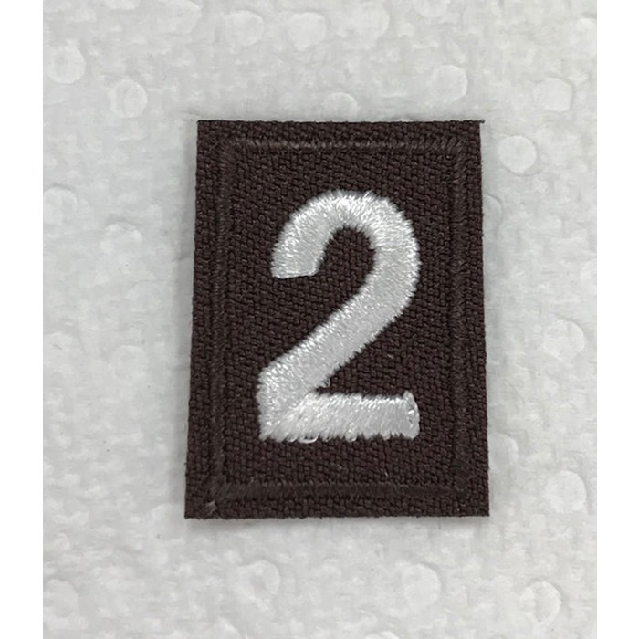 Brownie Numeral 2