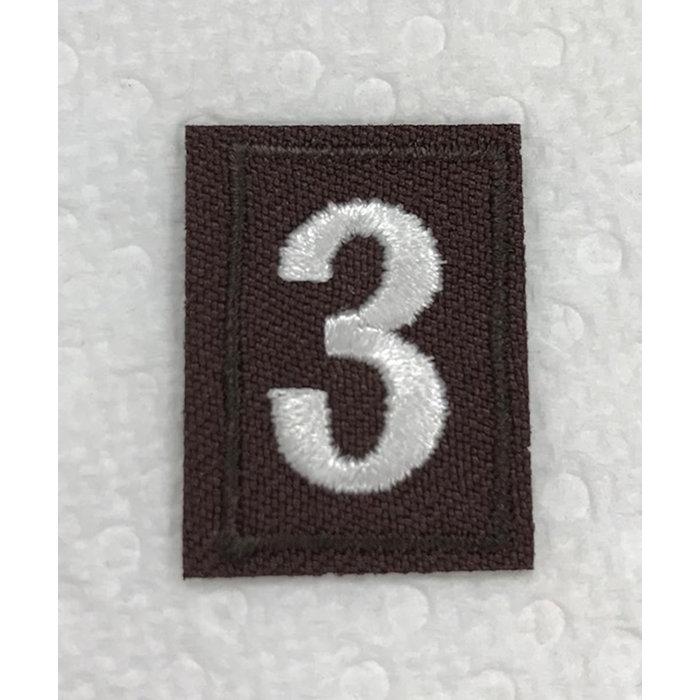 Brownie Numeral 3