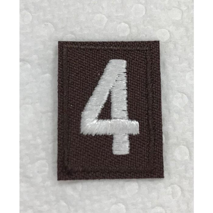Brownie Numeral 4