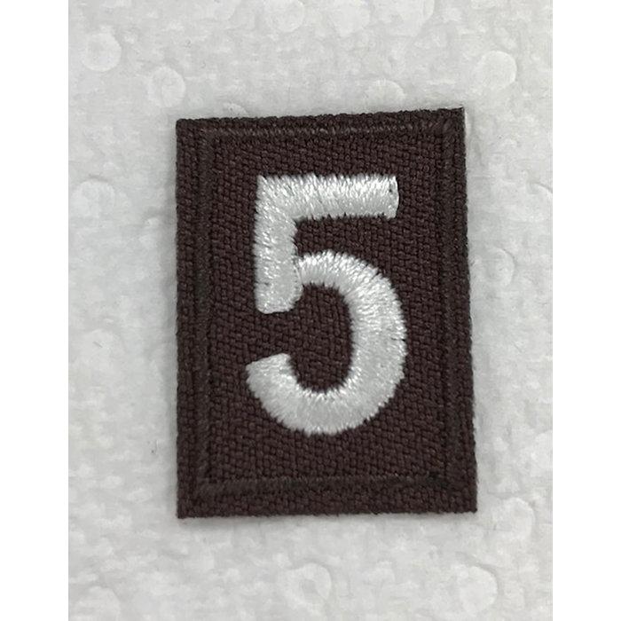 Brownie Numeral 5