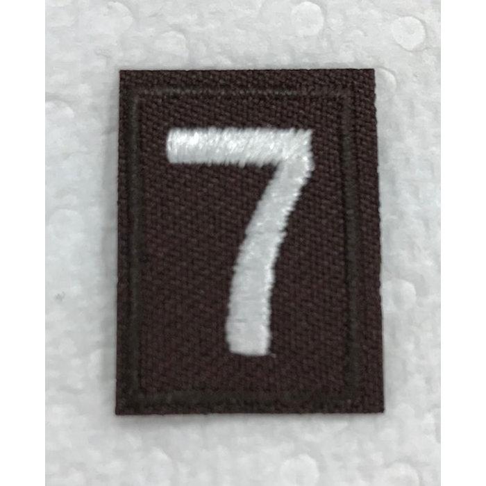 Brownie Numeral 7