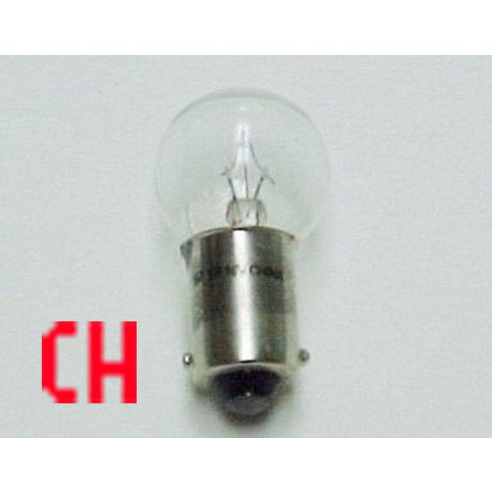 18V Bayonet Bulb Clear Small Globe