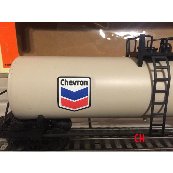 Chevron Uni-Body Tank Car U