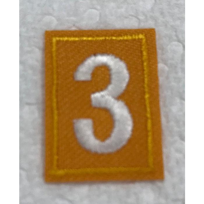 Daisy Numeral 3
