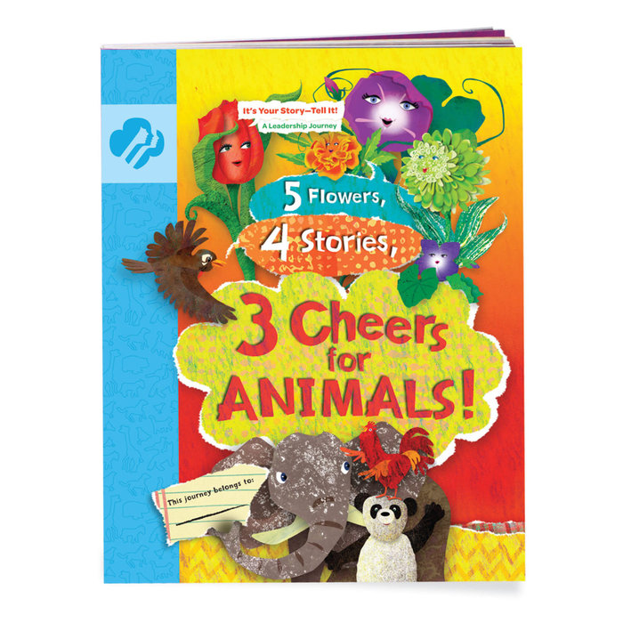 Daisy 5 Flowers, 4 Stories, 3 Cheers For Animals! Journey Book