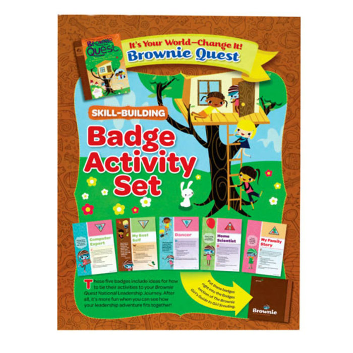 BR Badge Activity Set/Brownie Quest